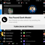 Cum activezi Facebook Messenger Dark Mode