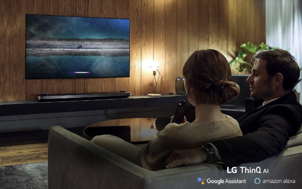lg oled 2019 LG-ThinQ-AI-TV-Lifestyle