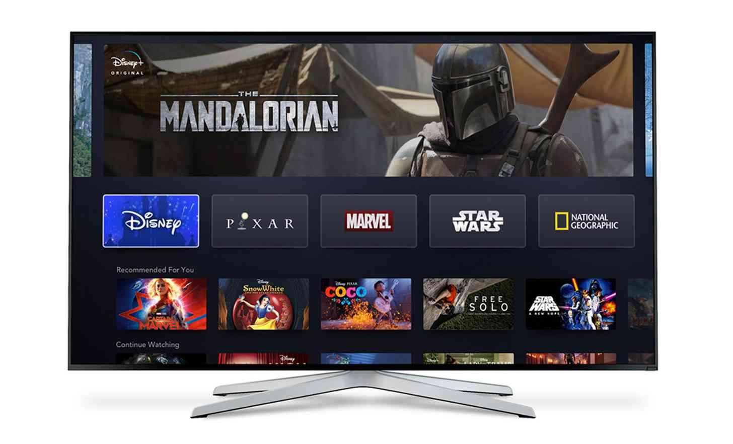 Disney a lansat serviciul de streaming Disney+