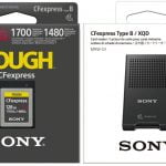 Sony CFexpress Type B, un card de memorie cu citire și scriere ultra-rapidă