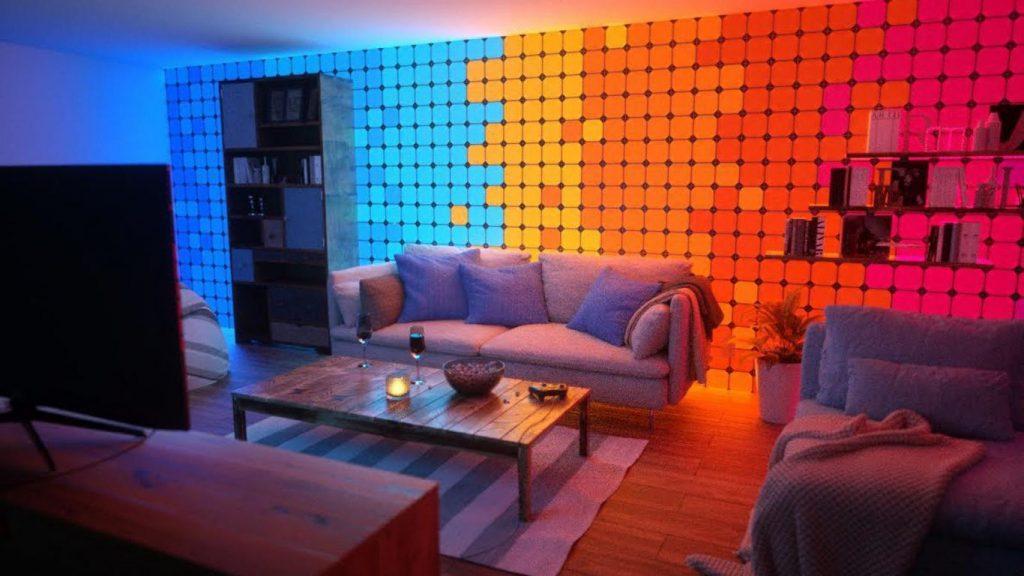 Nanoleaf. Panourile LED care schimbă modul în care îți decorezi casa