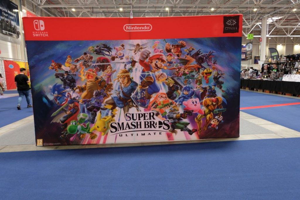 Standul Nintendo la East European Comic-Con
