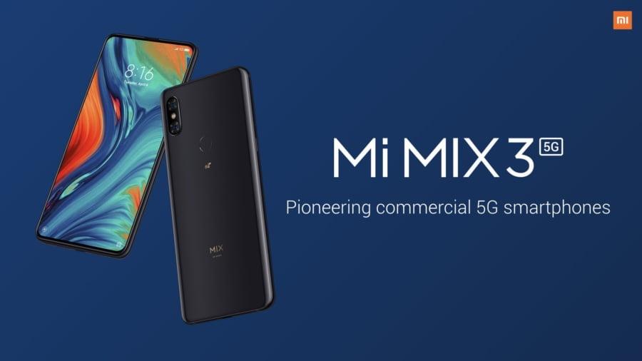 Xiaomi Mi Mix 3 5G. Cel mai ieftin telefon 5G