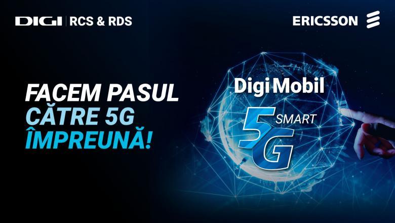 RCS&RDS lansează noul serviciu Digi Mobil 5G Smart