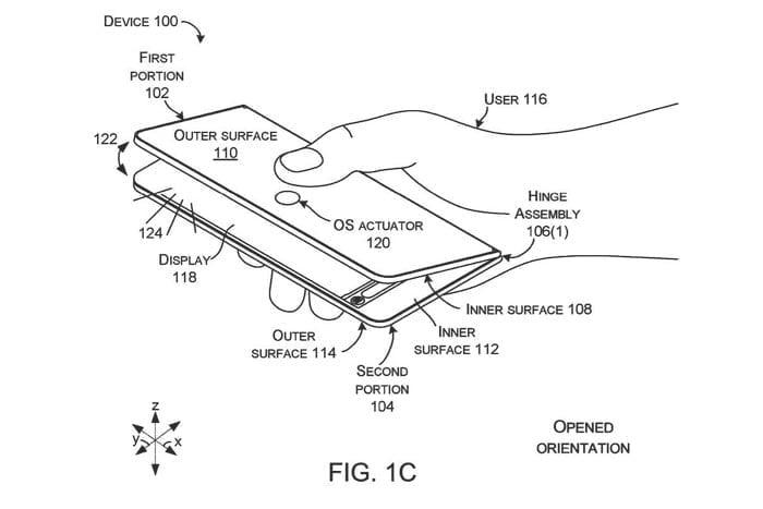 Microsoft mizează pe Surface Phone, un telefon pliabil inovativ