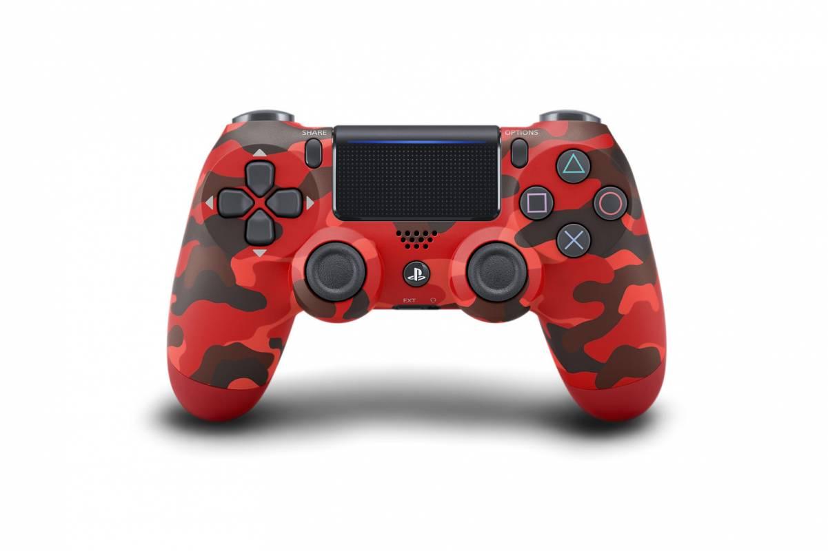 controler Camo-Red-Dualshock-4-1