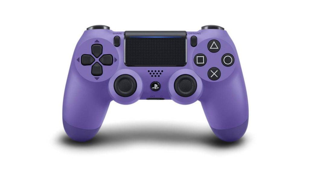 controler Electric-Purple-DualShock-4