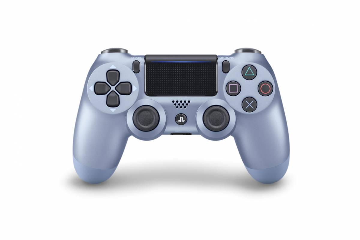 controler Titanium-Blue-DualShock-4