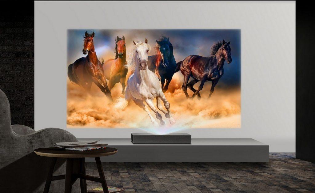 LG CineBeam 4K. Un proiector laser care aduce cinematograful acasă