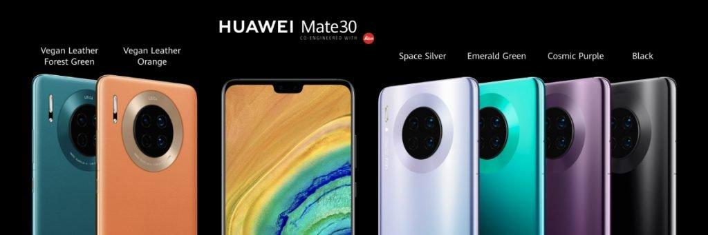 Huawei Mate 30 și Mate 30 Pro, din 15 noiembrie în Europa
