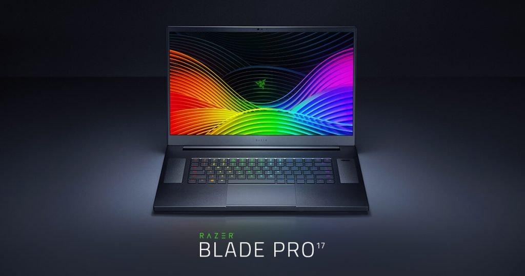 Razer Blade Pro 17. Un laptop de gaming cu ecran 4k și rată de refresh de 120Hz