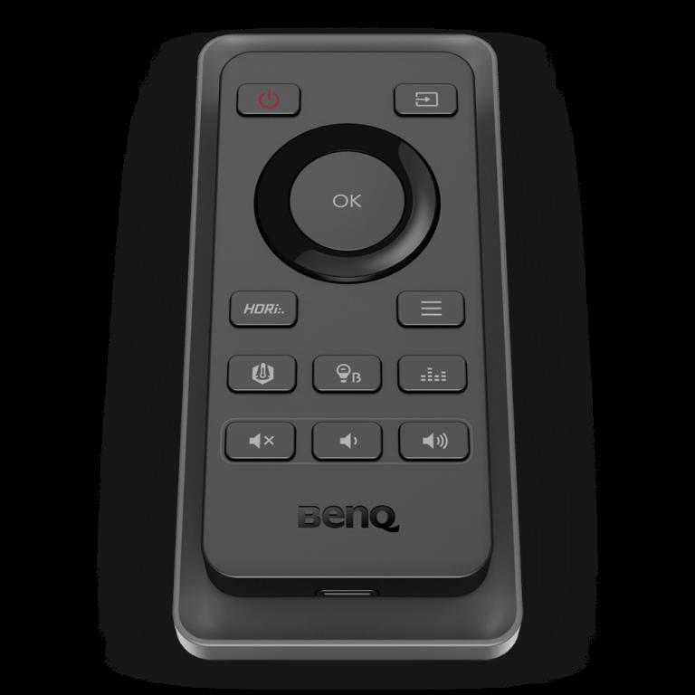 benq ex2780q e80-remote-front45