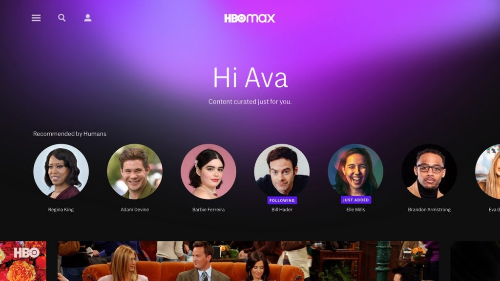 hbo max hbo-max-interface