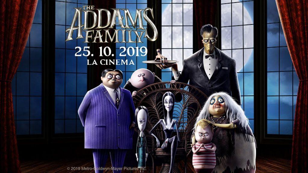 Familia Addams. O animație amuzantă, cu iz de Halloween