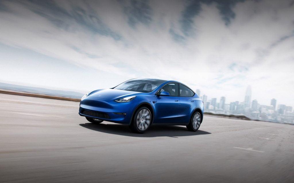 bateriile auto tesla-model-y