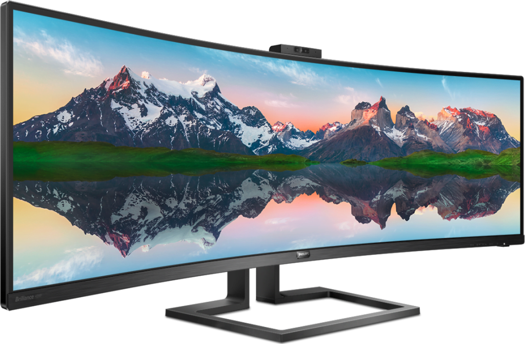 Philips 439P9H. Un nou monitor SuperWide, de 43 de inchi