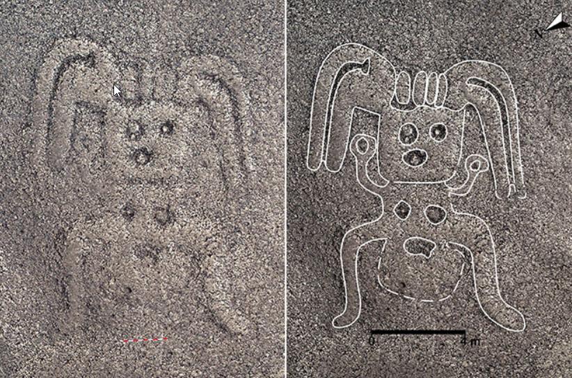 Peste 140 de desene misterioase, descoperite la Nazca