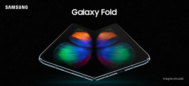 Samsung a lansat Galaxy Fold în România. Prețul, demn de Cartea Recordurilor