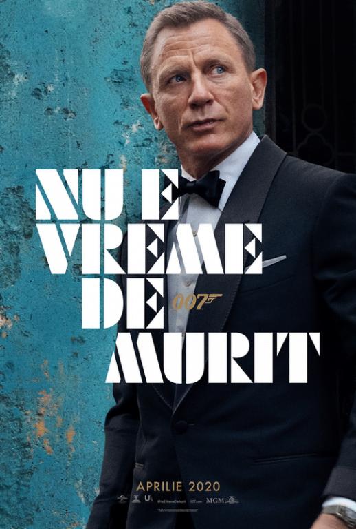 Primele imagini din noul film James Bond. No time to die