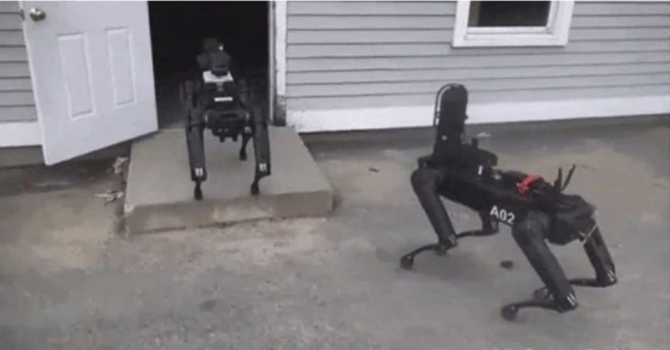Poliția din Massachusetts a angajat un robot Boston Dynamics