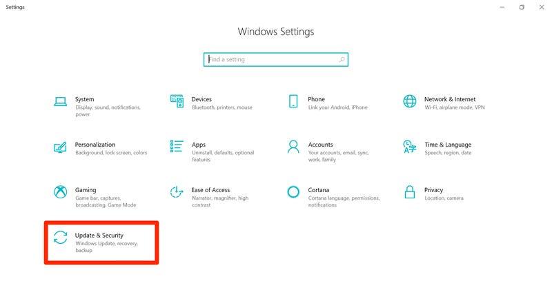 cum actualizezi rapid windows 10 windowsupdate1