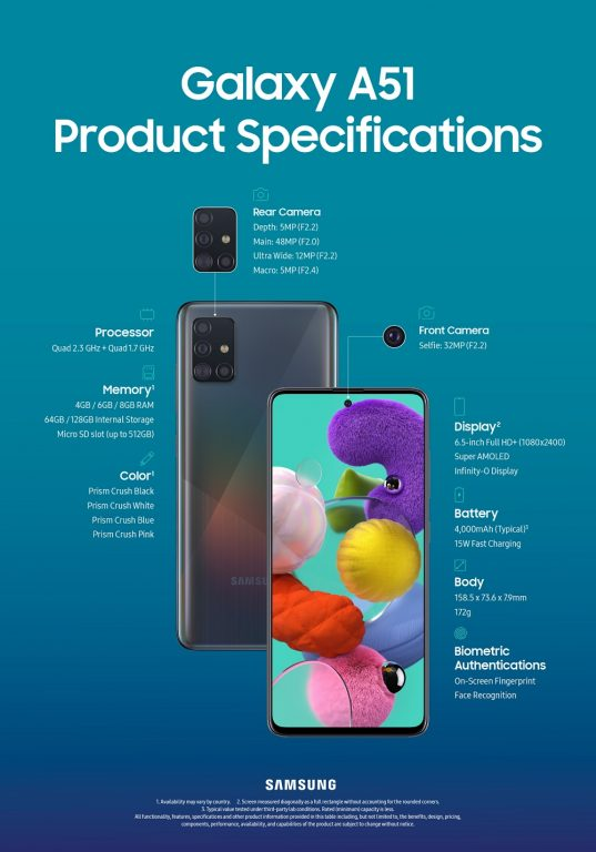 galaxy a71 Galaxy_A51_Product_Specifications