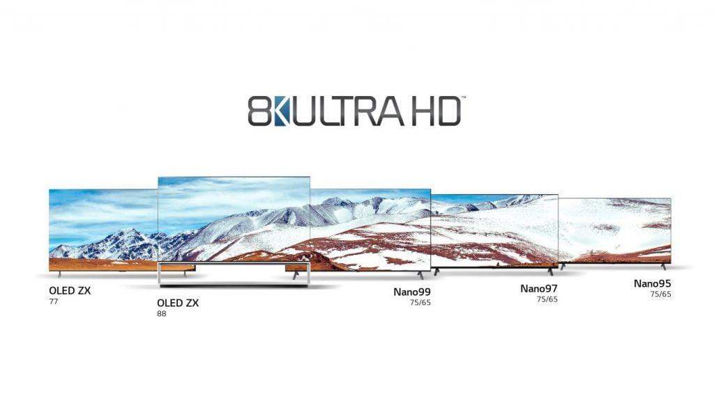 LG Real 8K. Opt noi televizoare lansate de LG la CES 2020