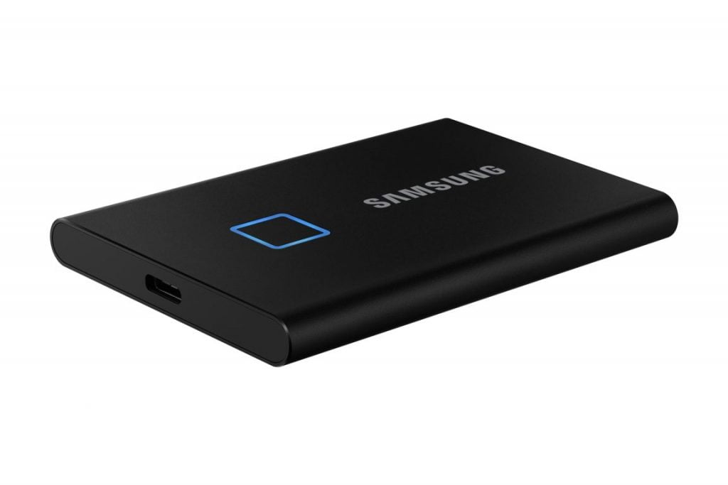Samsung T7 Touch, un SSD cu o viteză de până la 1000 Mb/s