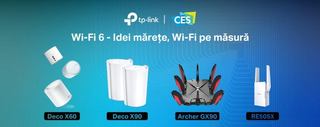 TP-Link lansează la CES 2020 noi produse cu tehnologia Wi-Fi 6