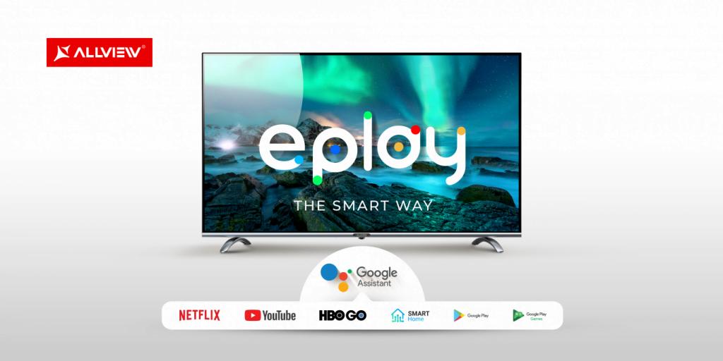 Allview ePlay. O nouă gamă de televizoare smart
