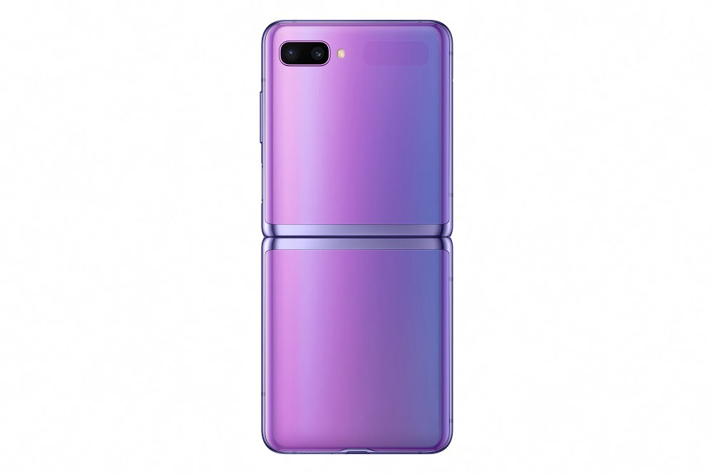 galaxy z flip galaxy-z-flip_open-back_purple-mirror