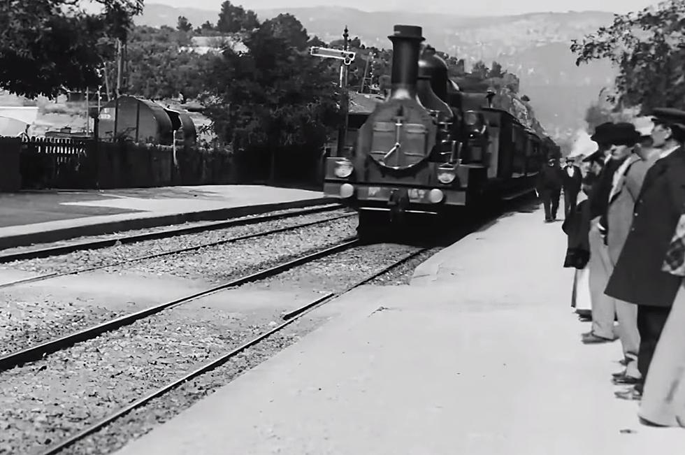 """Arrival of a Train at La Ciotat"". Un film din 1896, refăcut în 4K"