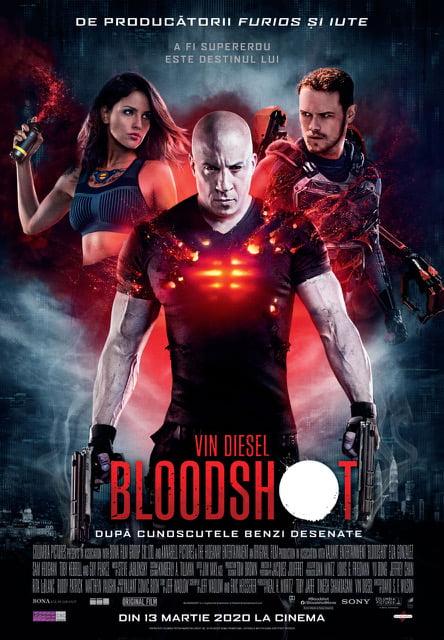 Poster oficial Bloodshot