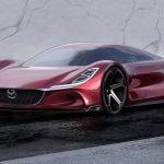 Mazda RX-10 Vision Longtail. Un concept spectaculos