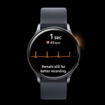 Samsung Galaxy Watch Active 2 va măsura ritmul cardiac